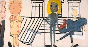 PV Windows and Floorboards © Rose Wylie