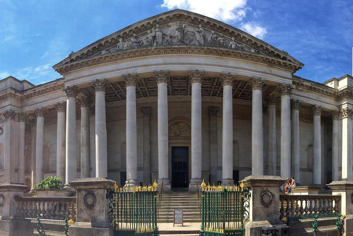 The Fitzwilliam Museum in Cambridge.