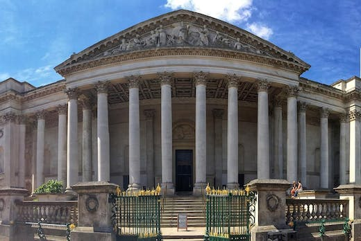 The Fitzwilliam Museum in Cambridge.