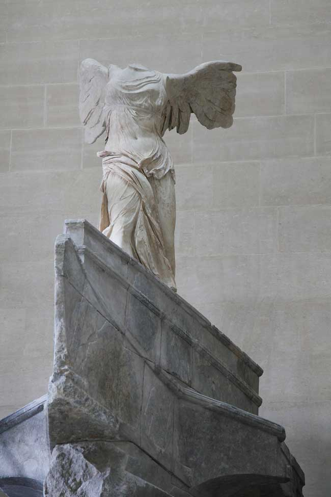 The Winged Victory Of Samothrace Is Back On Show At The