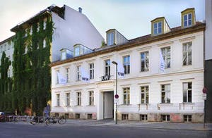KW Institute for Contemporary Art, Berlin, street view.