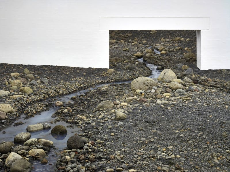'Riverbed' (2014; installation view) Olafur Eliasson. Photo: Anders Sune Berg. Louisiana Museum of Modern Art, Humlebaek