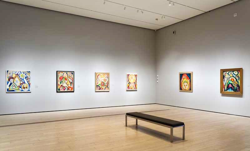 Installation view: Los Angeles County Museum of Art (LACMA)
