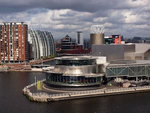 The Lowry, which opened at Salford Quays in 2000 and has proved a success