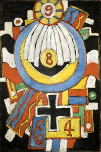 'Portrait' (c.1914–15), Marsden Hartley. The Collection of the Frederick R. Weisman Art Museum (University of Minnesota, Minneapolis)