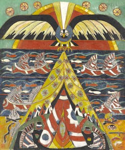 'Indian Fantasy' (1914), Marsden Hartley. North Carolina Museum of Art, Raleigh