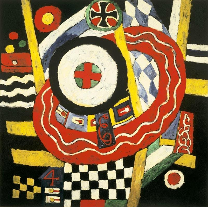 'The Iron Cross' (1915), Marsden Hartley. Mildred Lane Kemper Art Museum, Washington University in St Louis