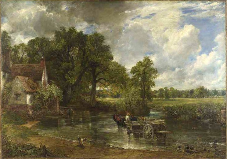 'The Hay Wain' (c. 1821), John Constable © The National Gallery, London 2014