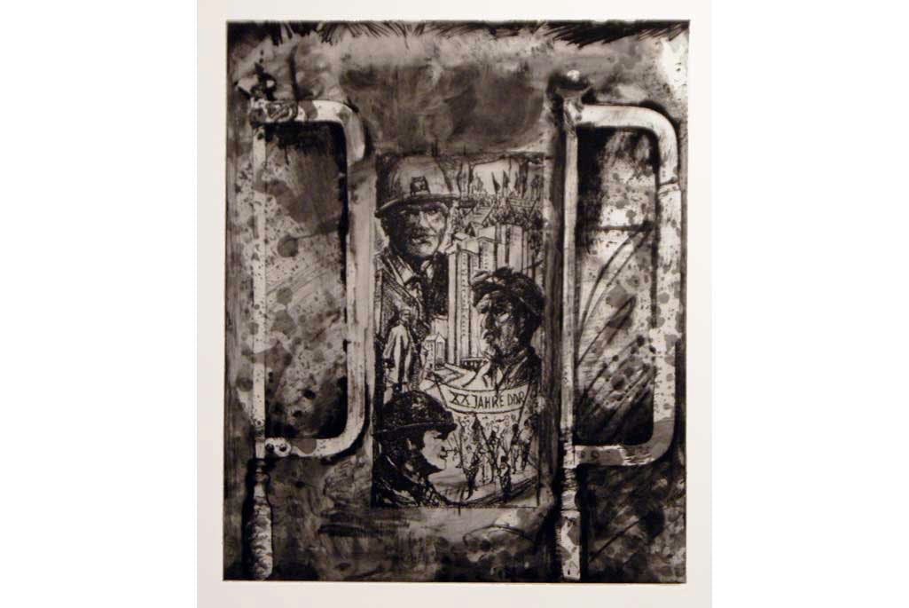 (2012), Jim Dine. One of a suite of 45 stone lithographs with additional etching and engraving.