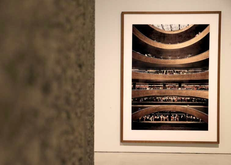 'Constructing Worlds' installation photograph (featuring Andreas Gursky)