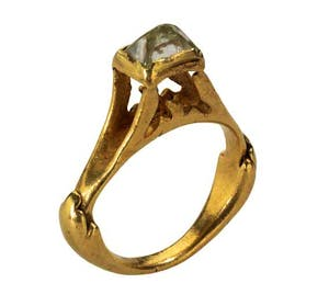 Roman Octahedral Diamond Ring (second half of the 3rd century to early 4th century AD), Roman Empire
