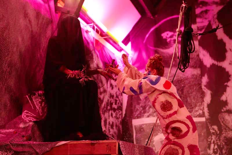 Marvin Gaye Chetwynd performance at Studio Voltaire, 6 September 2014.