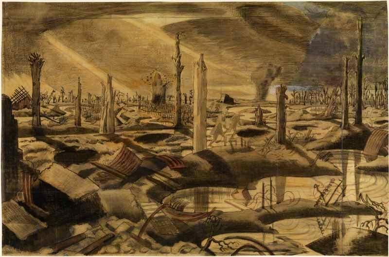 (1918), Paul Nash.