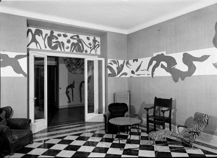 Hôtel Régina, Nice (1953)