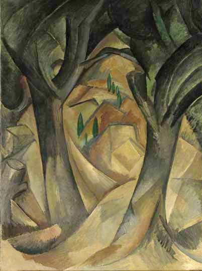 (summer 1908), Georges Braque