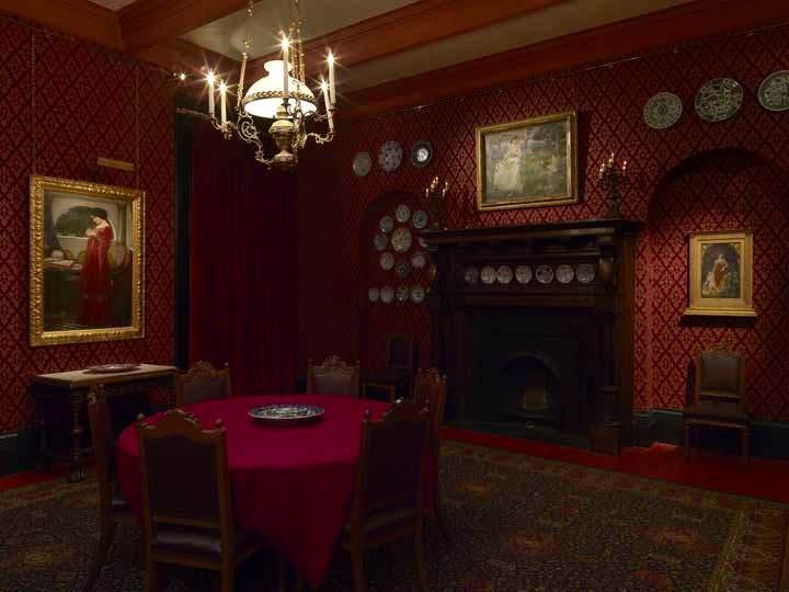 A-Victorian-Obsession-The-Perez-Simon-Collection.-Dining-Room,-Leighton-House-Museum.-Photo-credit-Todd-White-Photgraphy