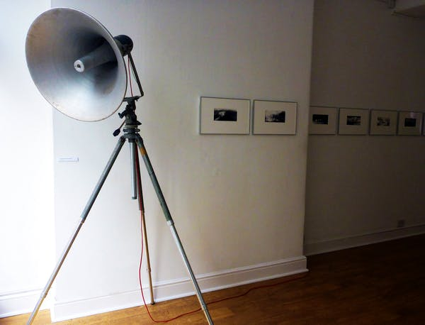 (installation view), Anaïs Tondeur in collaboration with Jean-Marc Chomaz