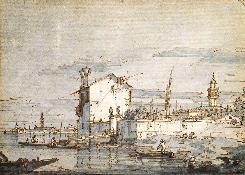 by Giovanni Antonio Canal, known as Canaletto