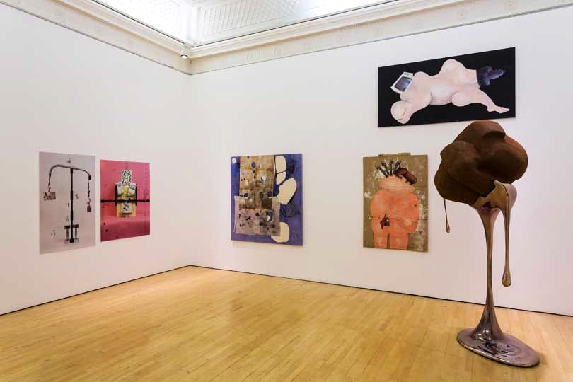 Installation view of 'Bloomberg New Contemporaries' at the Institute of Contemporary Arts, London (26 November 2014–25 January 2015)