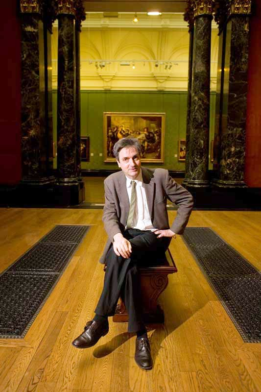 Nicholas Penny, photographed in the National Gallery in 2009.