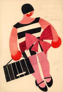 costume design for 'The Bolt' (1931), Tatiana Bruni