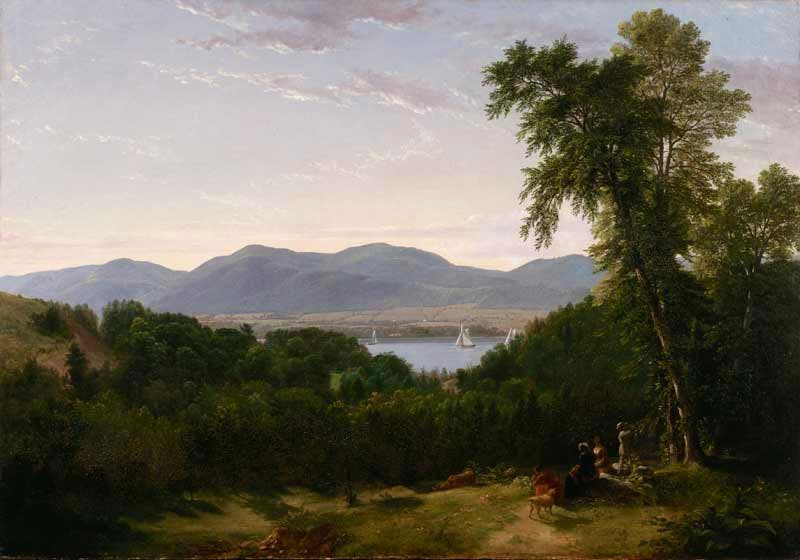 (c. 1852), Asher Brown Durand.