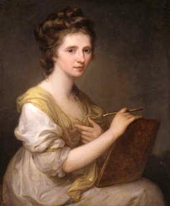 'Angelica Kauffman' (c. 1770–75), Angelica Kauffman © National Portrait Gallery, London