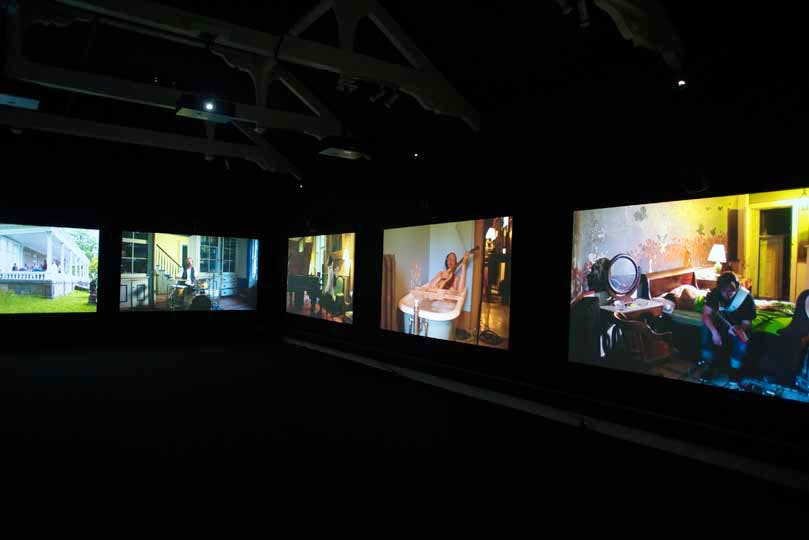 by Ragnar Kjartansson, at Artes Mundi 6