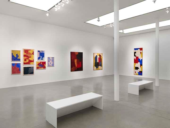 'Serge Poliakoff: Silent Paintings' at Timothy Taylor Gallery (installation view)