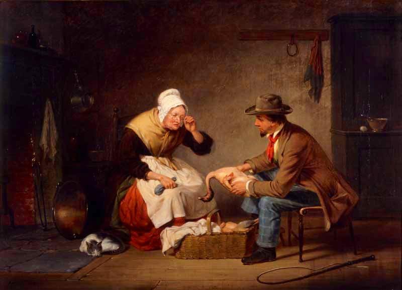 (c. 1858), Francis W. Edmonds.