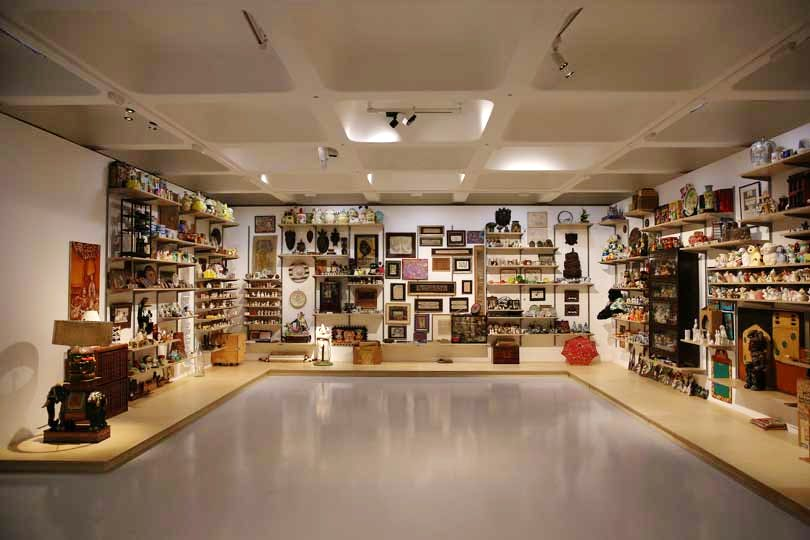 Martin Wong's collection, Danh Vo artwork, at 'Magnificent Obsessions: The Artist as Collector' (Barbican Art Gallery 12 Feb–25 May 2015)