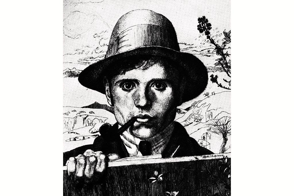 (detail; 1921), Leon Underwood.
