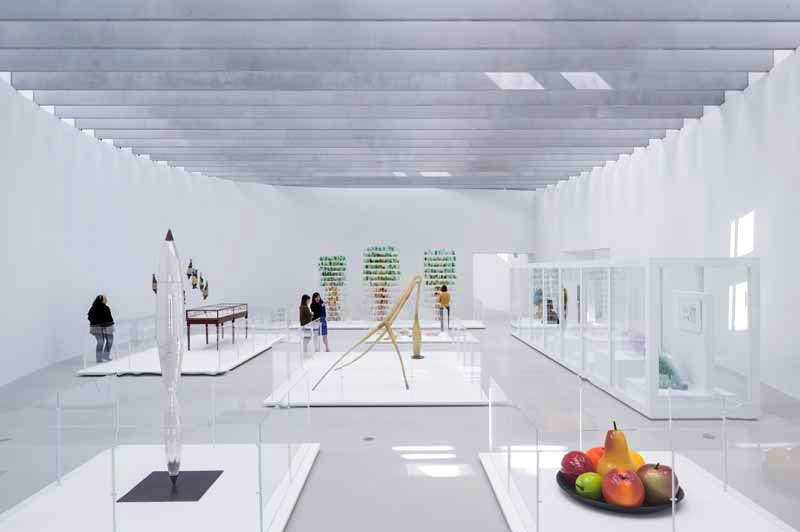 The Corning Museum of Glass's new Contemporary Art + Design Wing, designed by Thomas Phifer and Partners.