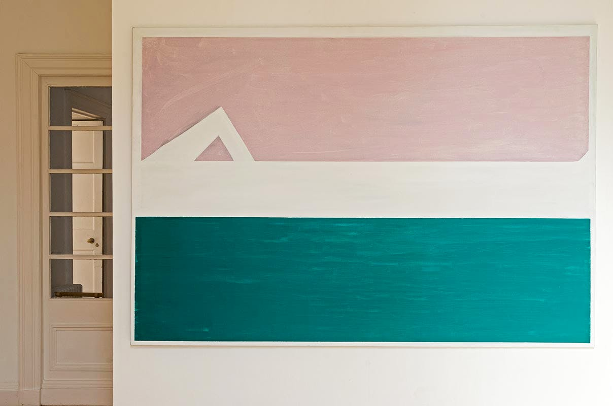 Exhibition View, 'Raoul De Keyser: Paintings 1967 to 2012', at Inverleith House, Royal Botanic Garden Edinburgh.