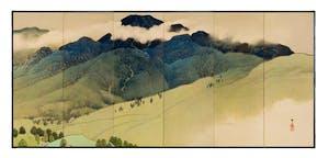 (detail; 1910s), Nishii Keigaku. Taisho era (1912–1926)