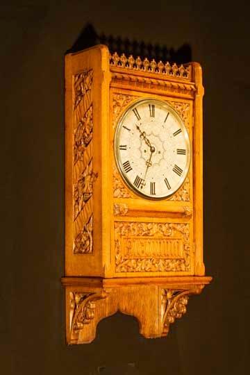 Clock (c. 1855) designed by A.W.N. Pugin.