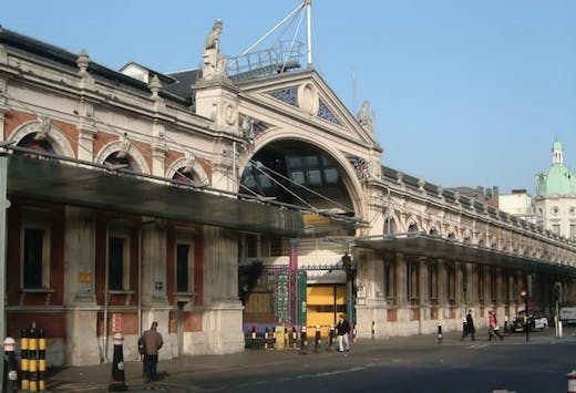 Smithfield Market, London.