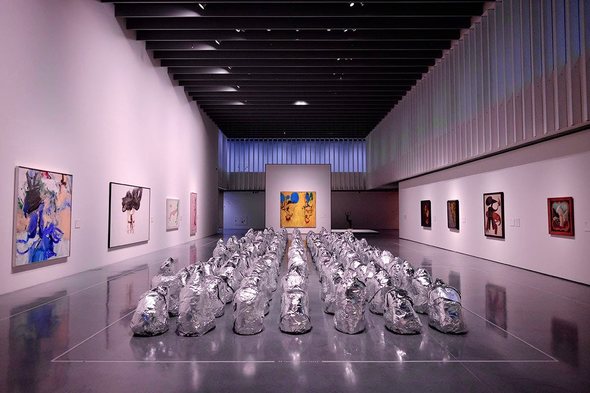 Installation view of 'The Collection', Centre Pompidou Málaga, March 2015.