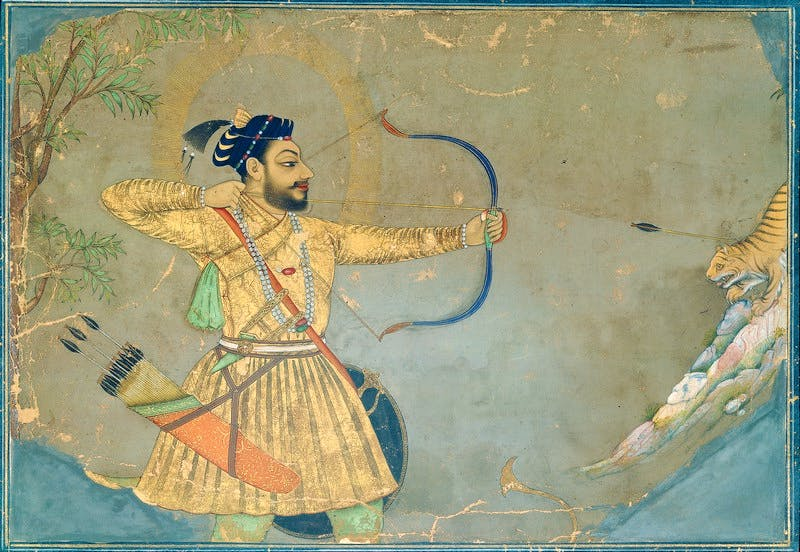 (c. 1660), Attributed to the Bombay Painter (probably Abdul Hamid Naqqash), Bijapur.