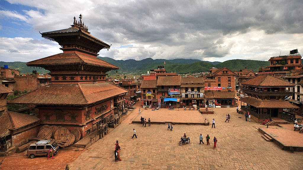 Bhaktapur before the earthquake.