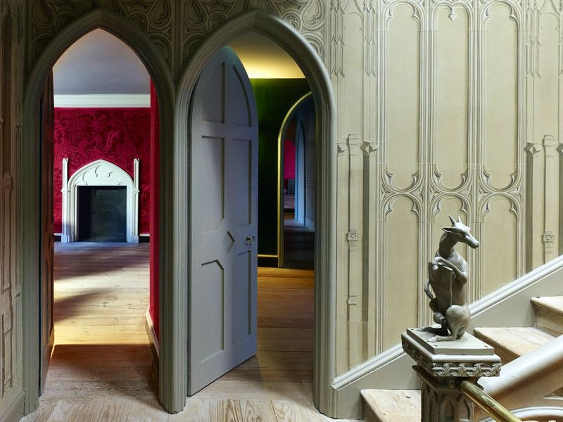 View into Red Bedchamber.