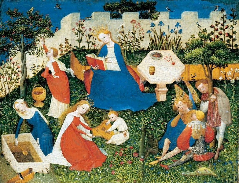 (c. 1400), Master of the Garden of Paradise.