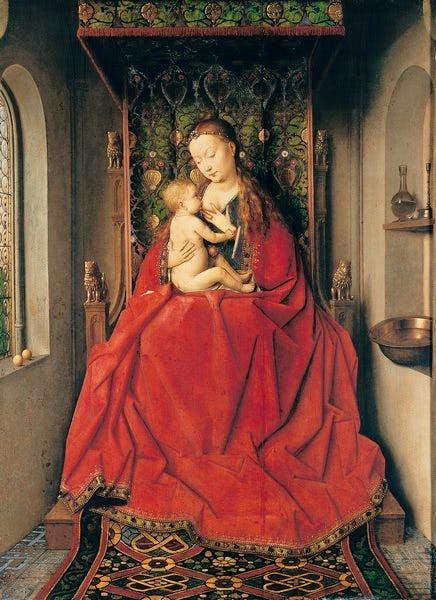 (c. 1437), Jan van Eyck.