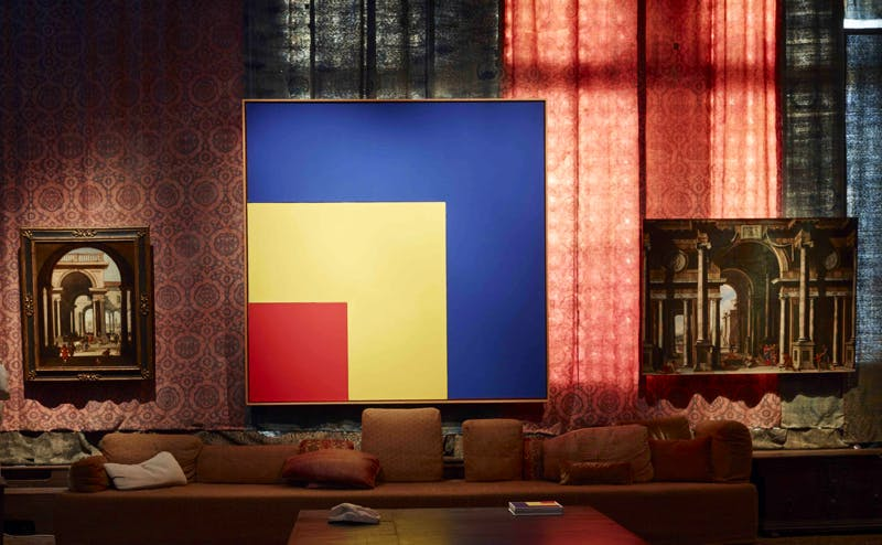 Codazzi and Ellsworth Kelly: Piano Nobile, Palazzo Fortuny