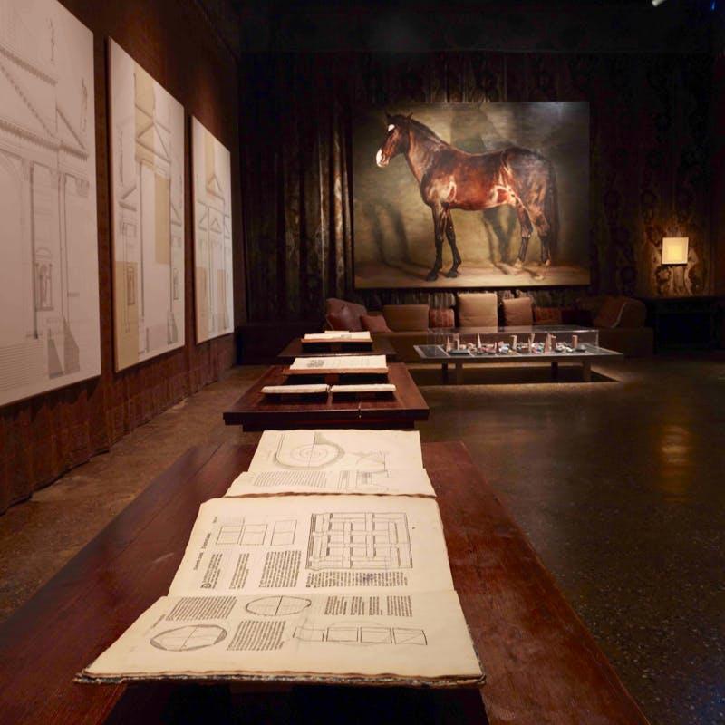 'Proportio' by Axel Vervoordt: Andrea Palladio, Luciano Fabro, Michael Borremans (Piano Nobile Palazzo Fortuny, Venice)