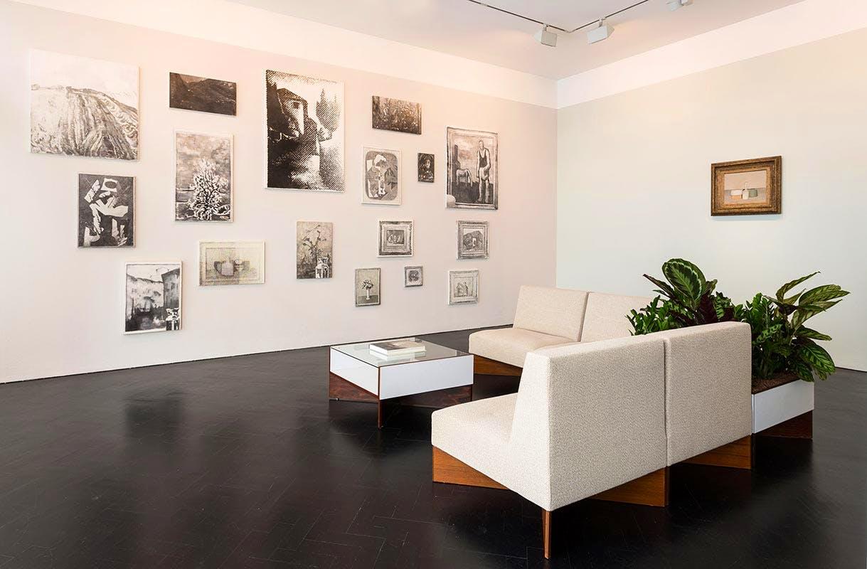 Installation view, Galerie de L'Epoque.
