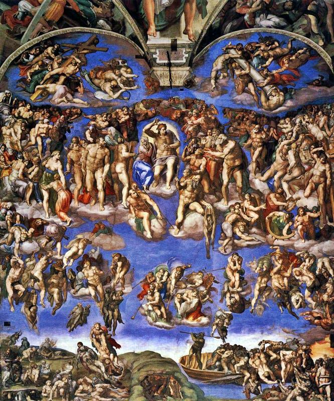 (1536–41), Michelangelo.