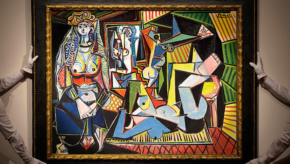 One 'Les Femmes d'Alger (Version O)' by Picasso will get you...