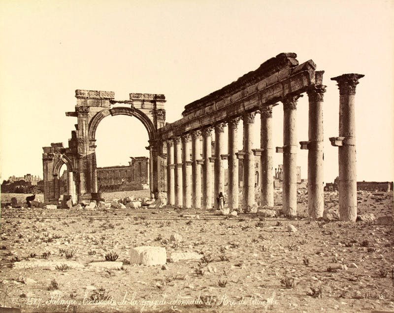 Palmyra (c. 1867–76), Felix Bonfils; the Myron Bement Smith Collection, Freer and Sackler Galleries Archives, Smithsonian