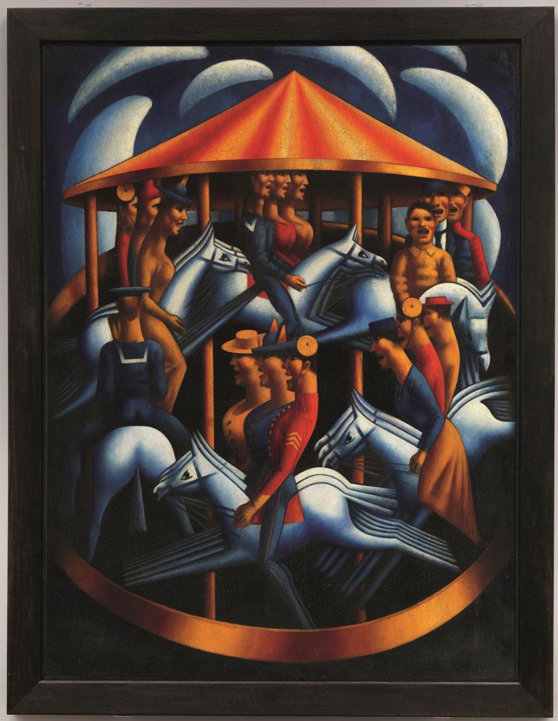 Mark Gertler Merry Go Round Art